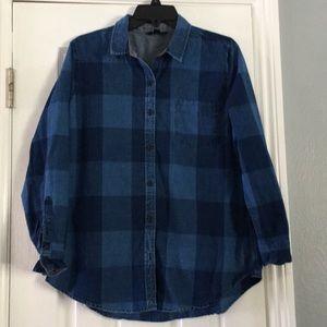 Lucky Brand checkered shirt